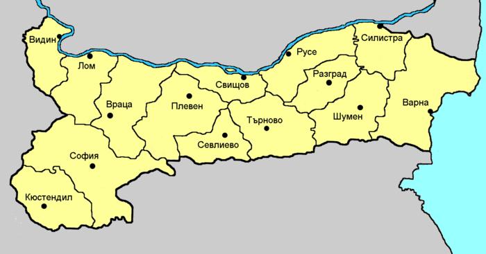 Административно деление на България - Wikiwand