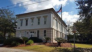 Historic Berkeley County Courthouse in Mount Pleasant, South Carolina