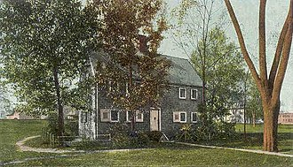 Dorchester, Boston - Old Blake House in c. 1905