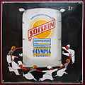Old Danish enamel advertising sign, Solskin.JPG