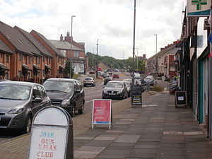 Deckham - The shopping area on Old Durham Road is the economic hub of the area.