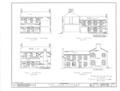 Old Tavern, East Clinton and East Square Streets, Jacksonville, Calhoun County, AL HABS ALA,8-JACVI,1- (sheet 3 of 4).png