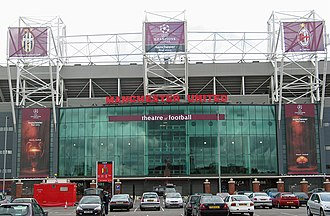2003 UEFA Champions League Final - Old Trafford was selected to host the final in December 2001.