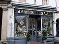 Old grocer's shop, Crickhowell - geograph.org.uk - 1215169.jpg