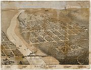 Map of the city 1887
