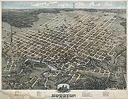 Old map-Houston-1873