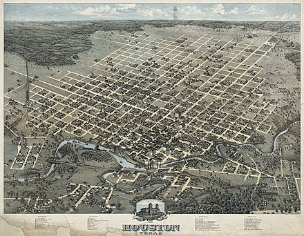 Houston, c. 1873 Old map-Houston-1873.jpg