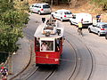 Old tram at Barcelona pic08-1.JPG