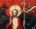 Oltář třeboňský, Zmrtvýchvstání Krista (detail I).jpg