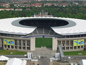 Football in Berlin - Berlin's Olympiastadion hosted the 2006 FIFA World Cup Final. The DFB Cup Final is held every year at the venue since 1985.