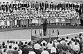 Olympische (Zomer) Spelen te Rome, Italië Optreden van het grootste gemengde ko, Bestanddeelnr 911-5438.jpg