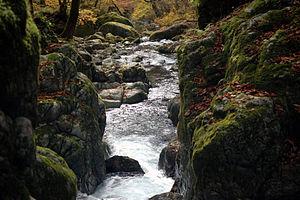 Shisō, Hyōgo - Image: Onzui Ravine 02