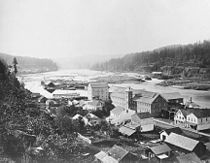 Oregon City, circa 1867