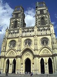 Cathédrale Sainte-Croix d'Orléans (vue générale)