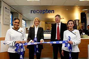 Ornella Barra - Barra opening a Boots Apotheek retail store in the Netherlands