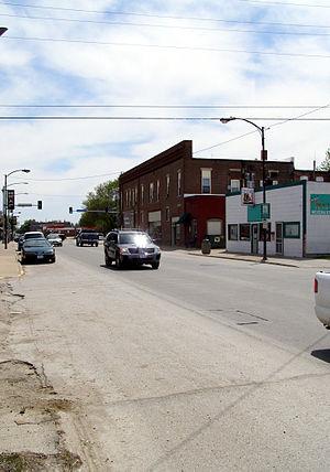 Osceola, Iowa - Image: Osceola Main Street