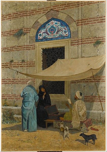 File:Osman Hamdi Bey - Arzuhalci , Public Scribe - Google Art Project.jpg