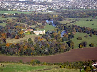 Osterley Park - Osterley Park from the air
