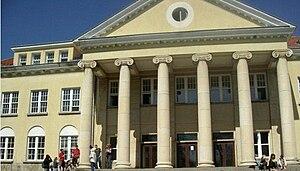 American College of Sofia - Image: Ostrander Hall ACS