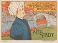 Otto Fischer - Ausstellung 'Die Alte Stadt', Dresden 1896.png