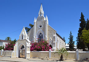 Dutch Reform Church building in Clanwilliam