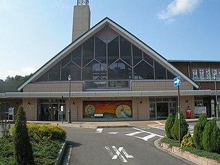 Yōkaichi Station Railway station in Higashiōmi, Shiga Prefecture, Japan