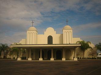 Zapata, Texas - Image: Our Lady of Lourdes Catholic Church, Zapata, TX IMG 2031