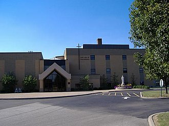 Our Lady of Providence Junior-Senior High School - Front of Providence