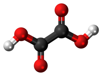Oxalic acid - Image: Oxalic acid 3D ball