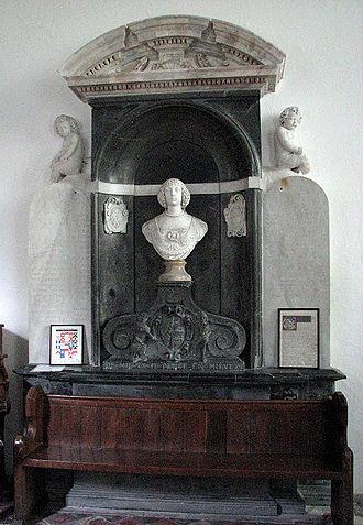 Oxnead -  Tomb of Lady Katherine Paston at Oxnead