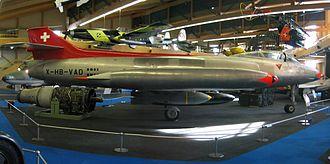 Flieger-Flab-Museum - FFA P-16 Mk.III im Flieger Flab Museum Dübendorf