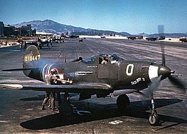 P-39N Airacobra of the 357th Fighter Group at Hamilton Field in July 1943.jpg