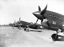 P-40E Warhawk aircraft of the 49th Fighter Group at Darwin, 1942