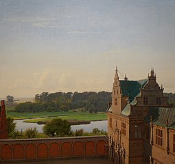 View from Frederiksborg Castle