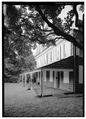 PERSPECTIVE VIEW FROM SOUTHWEST OF WEST FRONT - Cedar Grove, Landsdowne Drive, Philadelphia, Philadelphia County, PA HABS PA,51-PHILA,231-6.tif