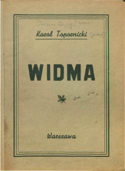 Widma Gajcy Wikiźródła Wolna Biblioteka