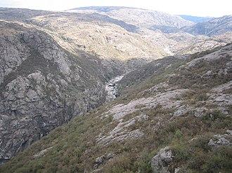 Quebrada del Condorito National Park - Image: PN Quebrada del Condorito