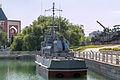 PSKR Shmel in the Great Patriotic War Museum 5-jun-2014 Stern.jpg