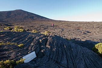 Pahoehoe lava Piton de la Fournaise Réunion.jpg