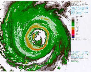 Typhoon Paka - NEXRAD image of Typhoon Paka from Guam