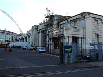Gordon England (coachbuilder) - Palace of Industry, Wembley before demolition