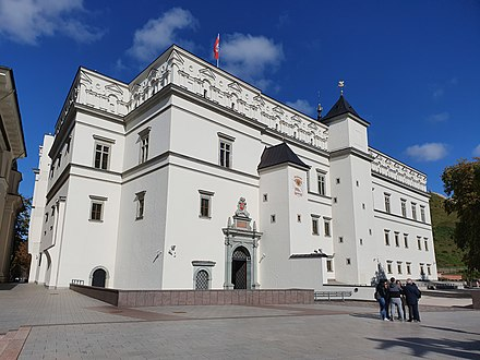 Palace of the Grand Dukes of Lithuania in Vilnius, Lithuania Palace of the Grand Dukes of Lithuania 2019 3.jpg
