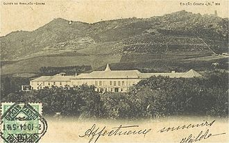 Ramalhão Palace - A view of Ramalhão Palace at the turn of the 19th/20th centuries.