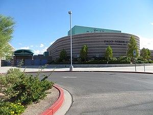Palo Verde High School - Image: Palo Verde HS, Las Vegas, Jul 2017