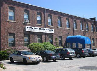 Pan Am Railways - Pan Am Railways headquarters