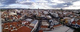 Patos - Panorama view of the city of Patos, state of Paraíba, Brazil