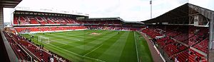City Ground - Panorama taken from the Trent End.