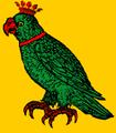 Papagáj (heraldika) fr -- perroquet.PNG