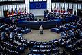 Pape François Parlement européen Strasbourg 25 nov 2014 19.jpg