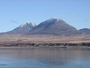Hinba - Two of the Paps of Jura.